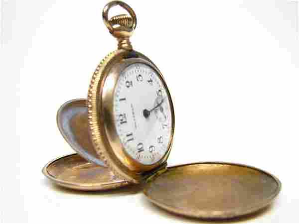 American Waltham Lady's Hunter Case Pocket Watch