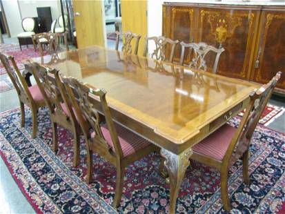 Henredon Chippendale Style Dining Room Group