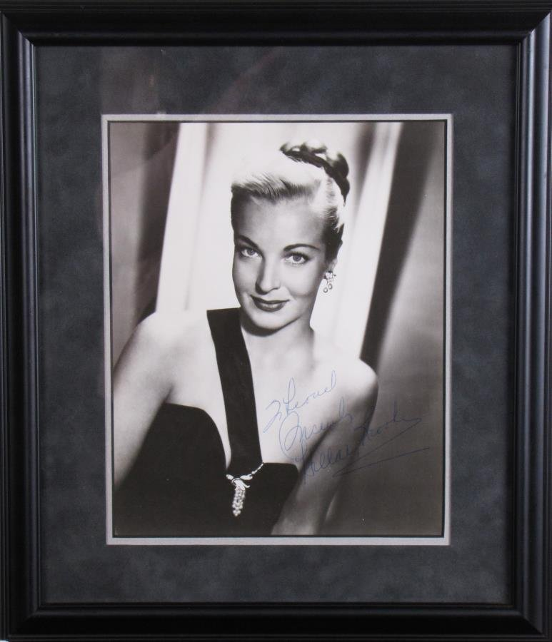 Hillary Brooke Signed Photograph