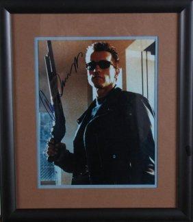 Arnold Schwarzenegger Signed Photograph
