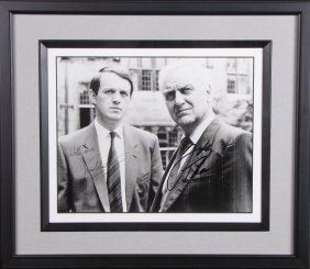 Kevin Whately, John Thaw Signed Photograph