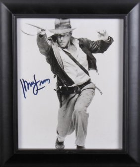 Harrison Ford Signed Photograph As Indiana Jones