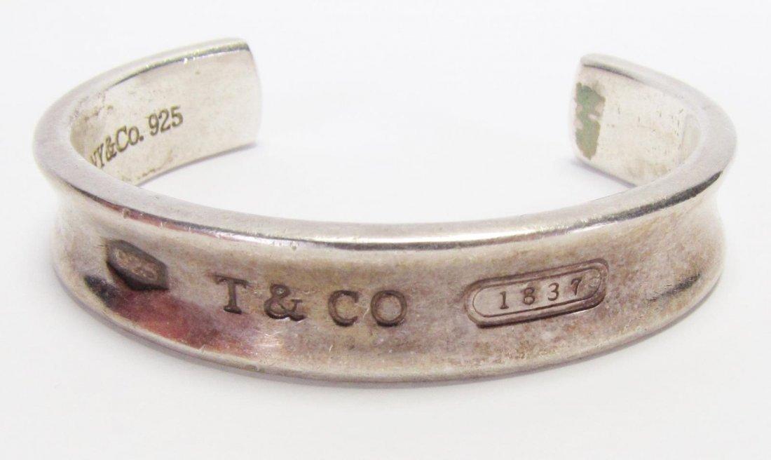 Tiffany & Co Sterling 1837 Cuff Bracelet - 2