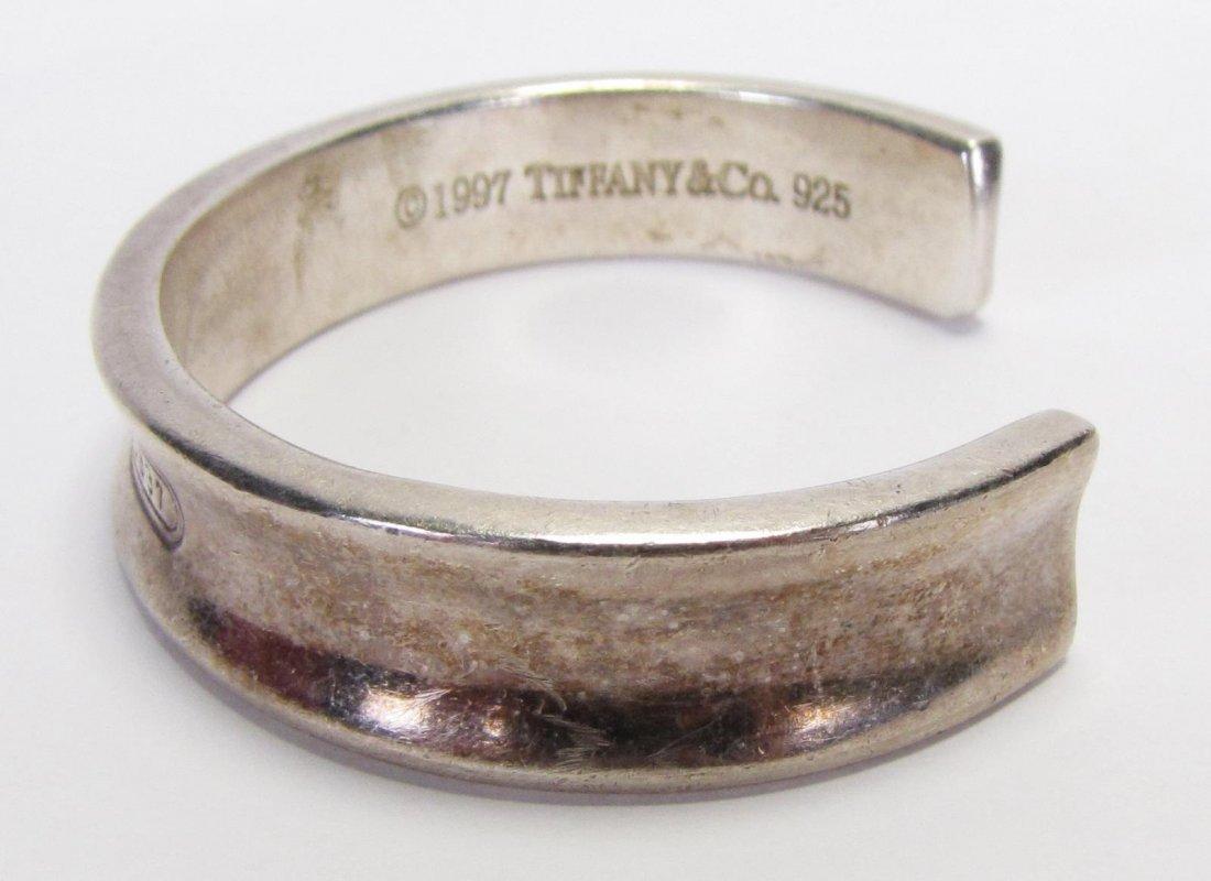Tiffany & Co Sterling 1837 Cuff Bracelet - 4