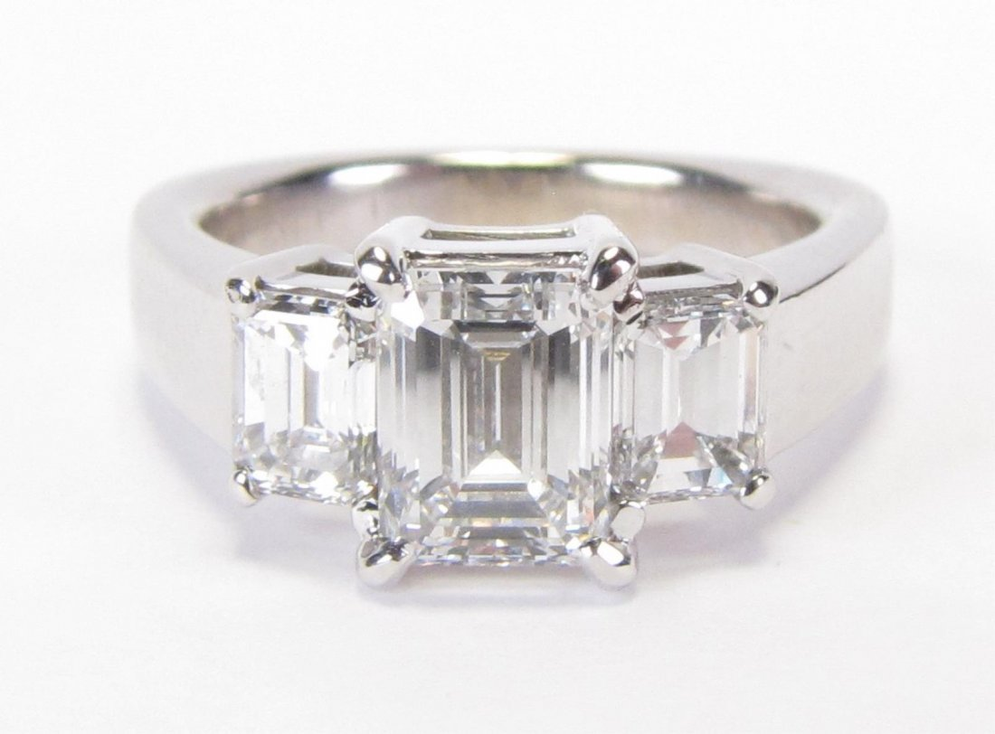 14K WG 1.26ct GIA Certified Diamond Ring