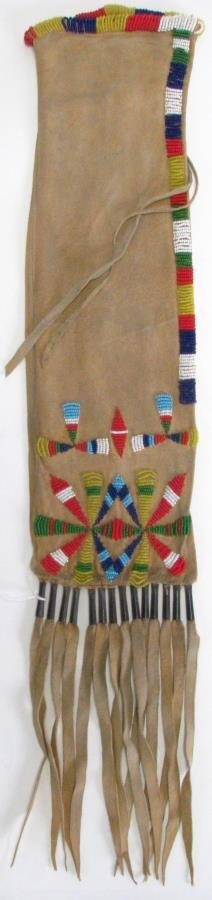 Southern Plains Apache Beaded Pipe Bag
