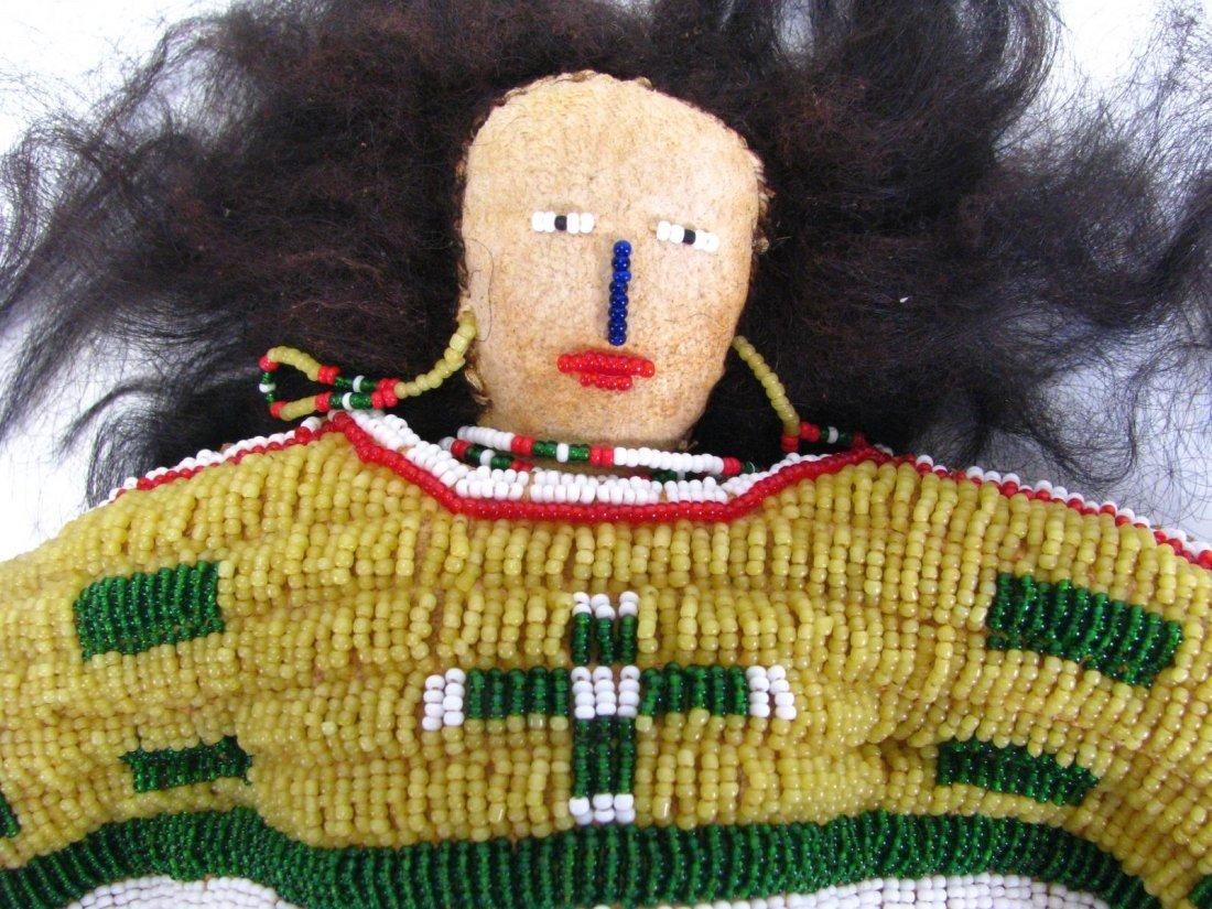 Plains Indian Beadwork Doll - 3