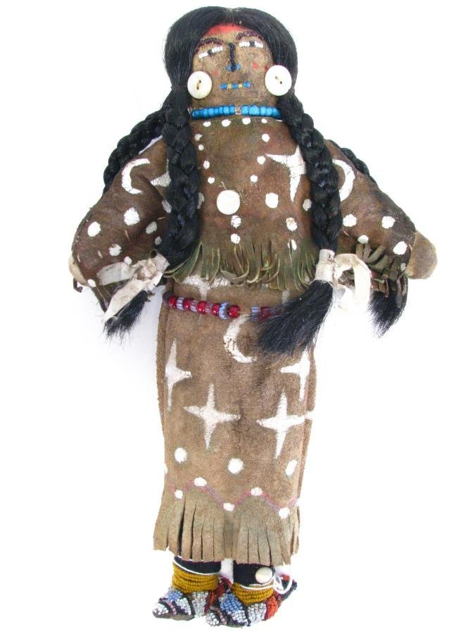 Crow Indian Beaded Doll - 2