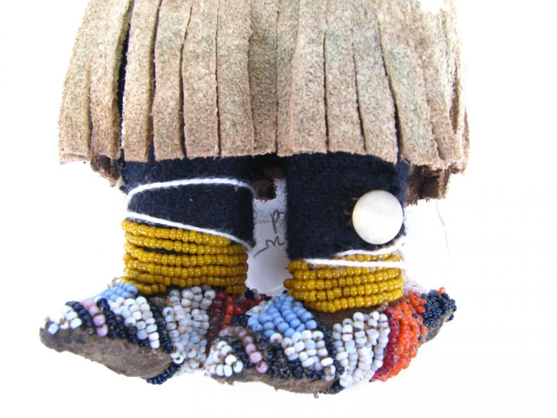 Crow Indian Beaded Doll - 3