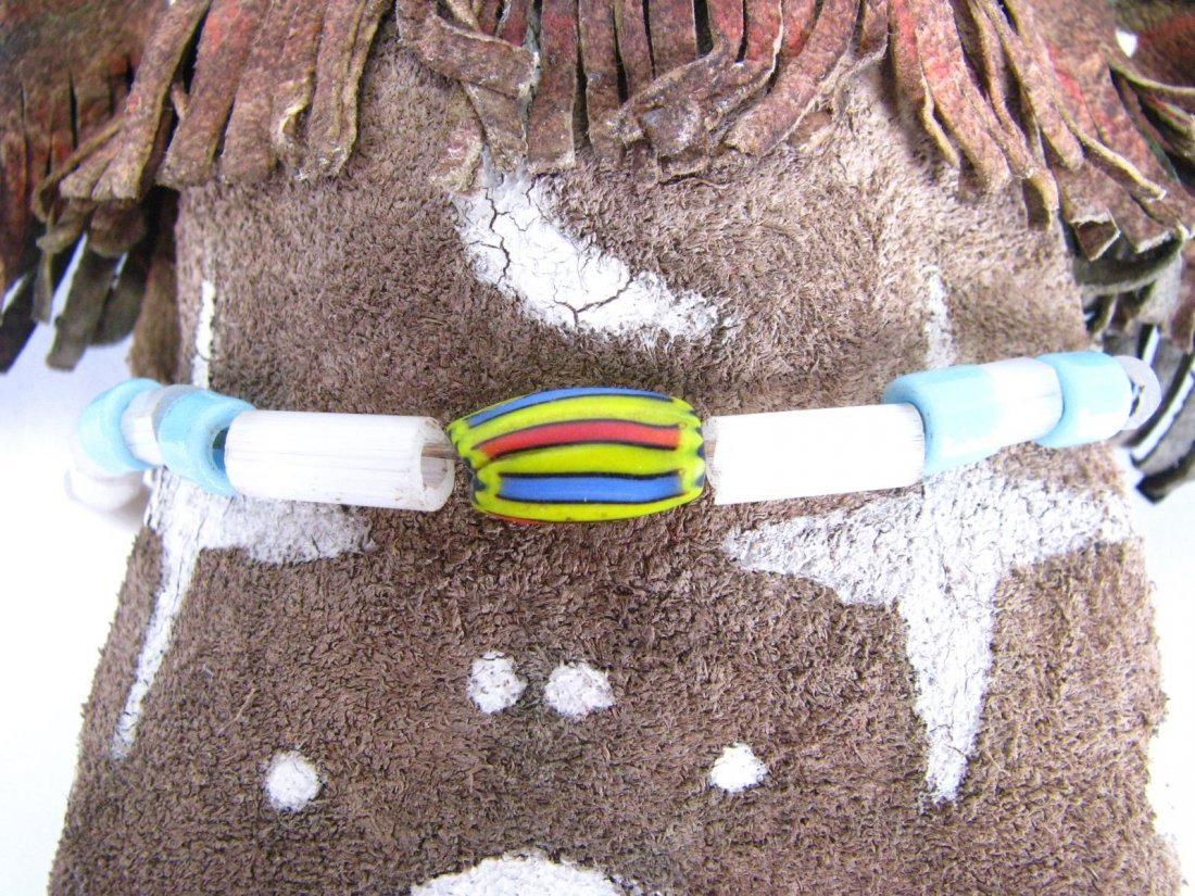 Crow Indian Beaded Doll - 6