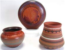 Group of Navajo Pottery