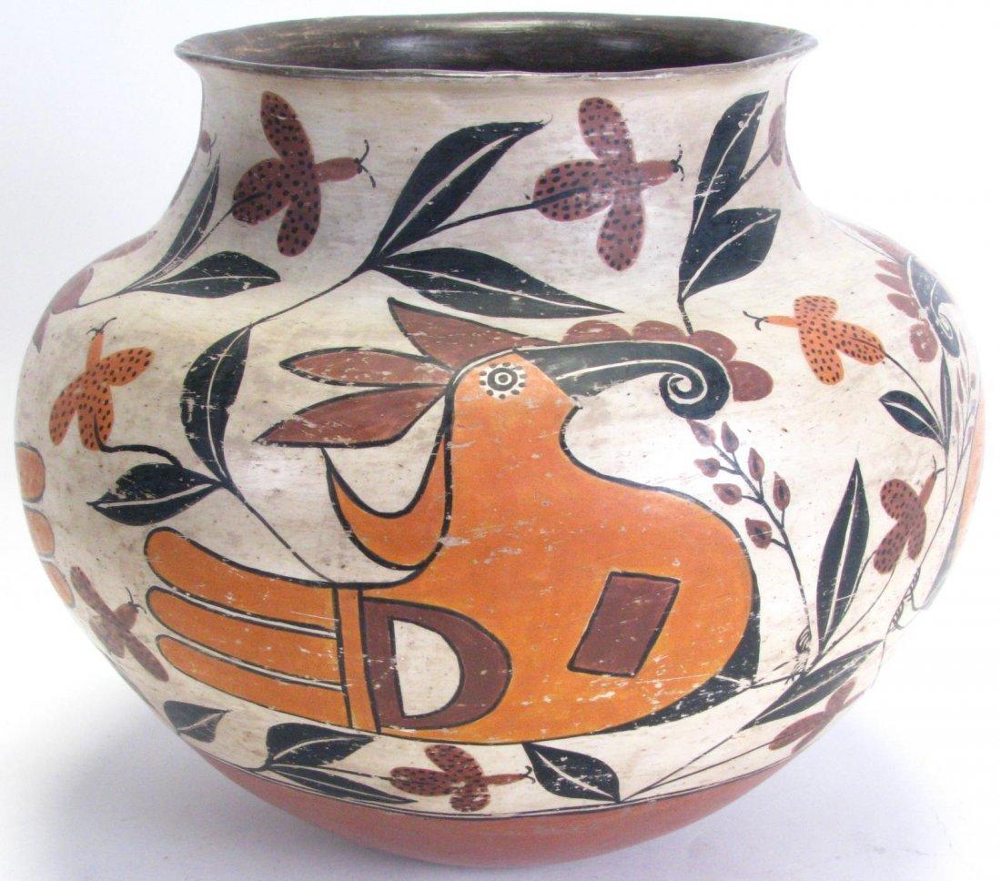 Large Native American Acoma Bowl