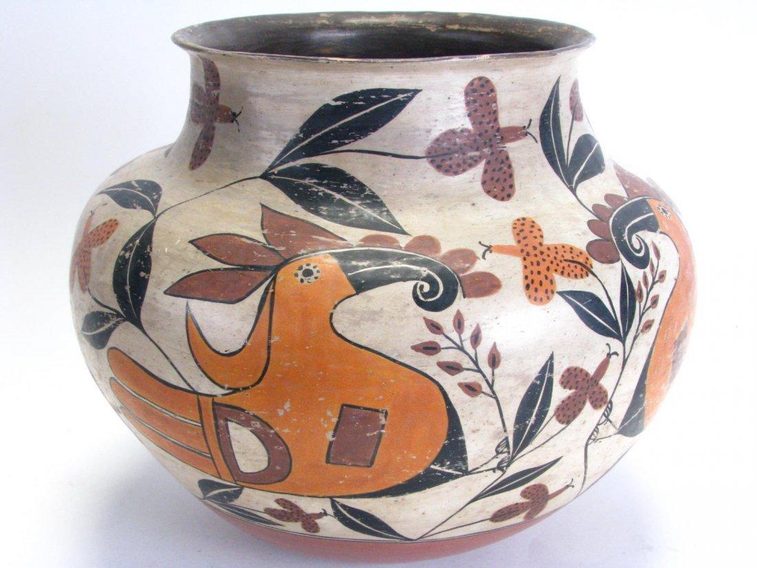 Large Native American Acoma Bowl - 3