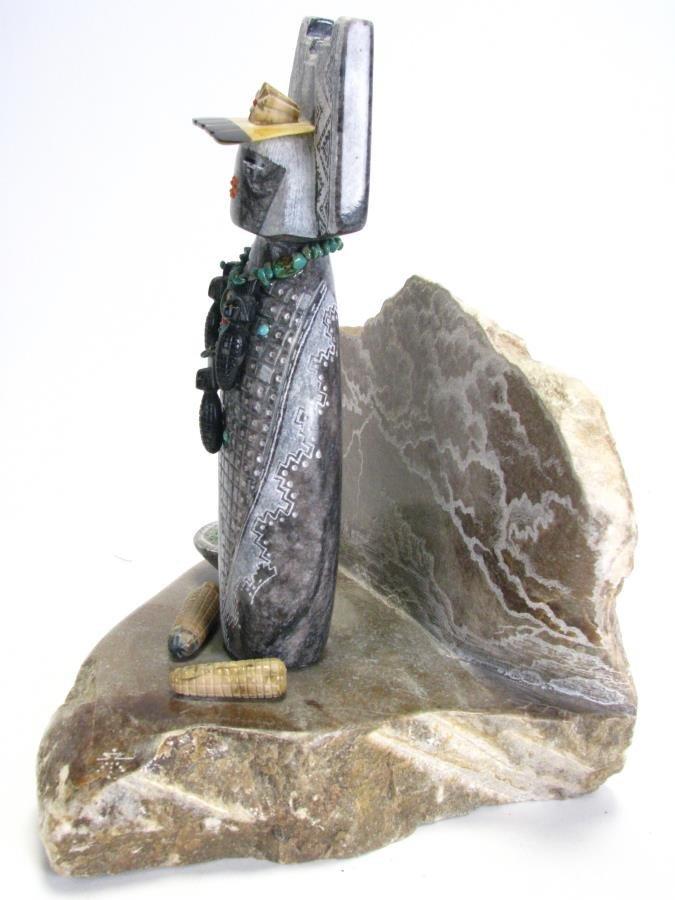 Native American Corn Maiden Stone Sculpture - 2