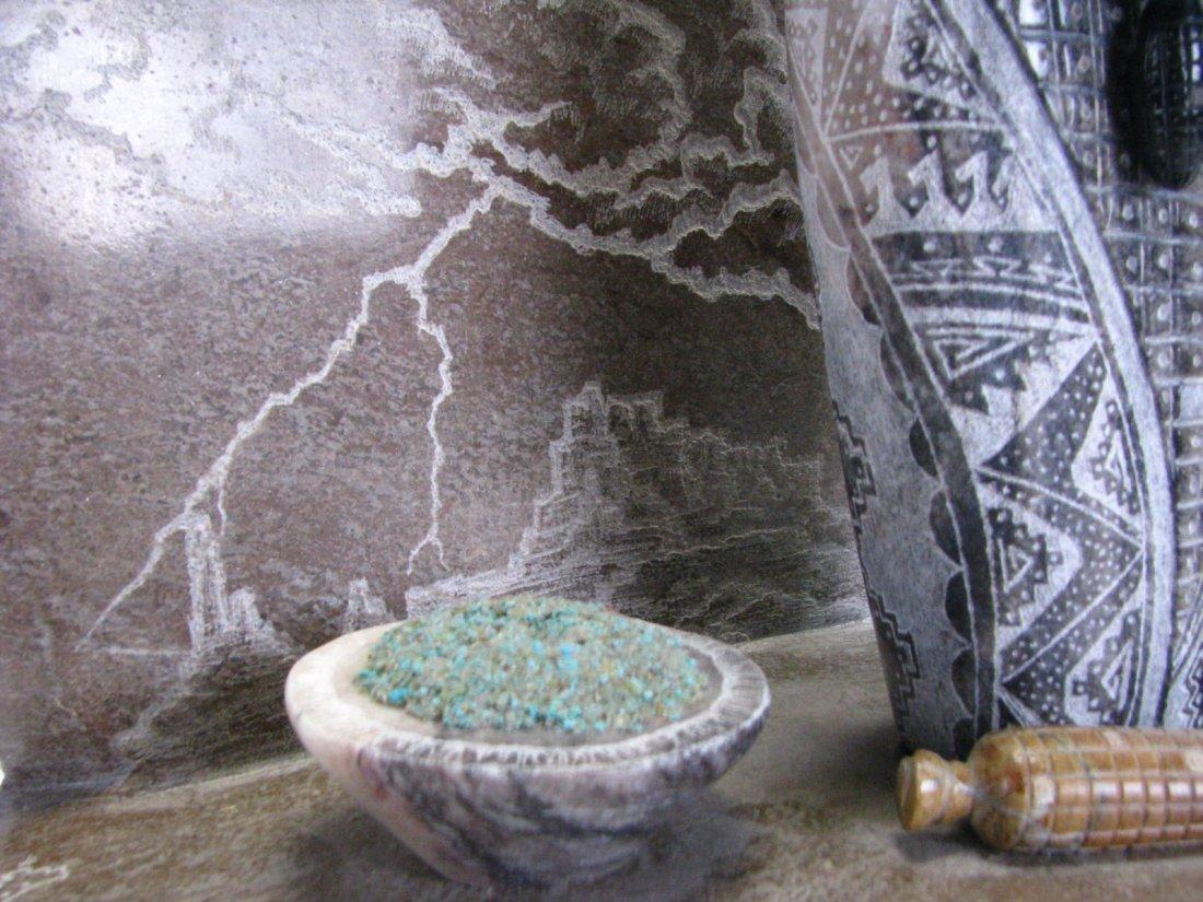 Native American Corn Maiden Stone Sculpture - 5