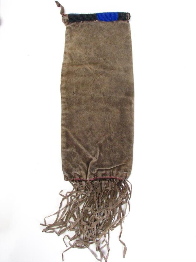 Two Sioux Indian Beaded Pipe Bags - 5
