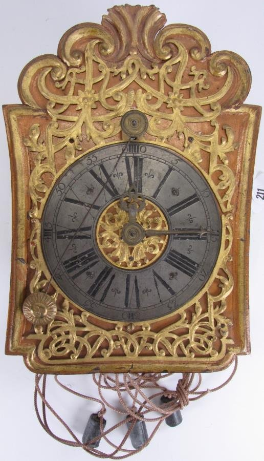 Antique Wag On Wall Clock