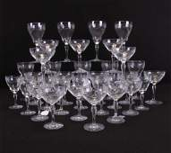 Group of Hawkes 'Marcella' Crystal Stemware