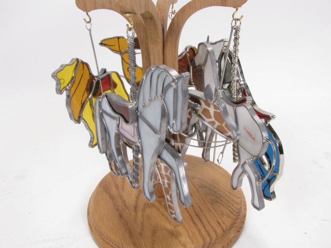 Vintage Wooden Carousel Horse - 3