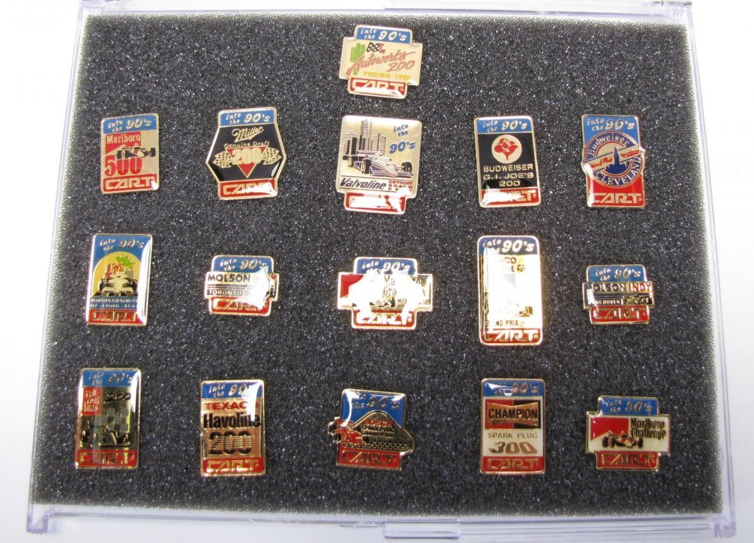 Collection of Racing Pins - 10