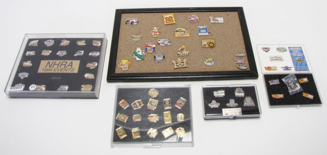 Collection of Racing Pins