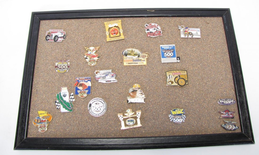 Collection of Racing Pins - 7
