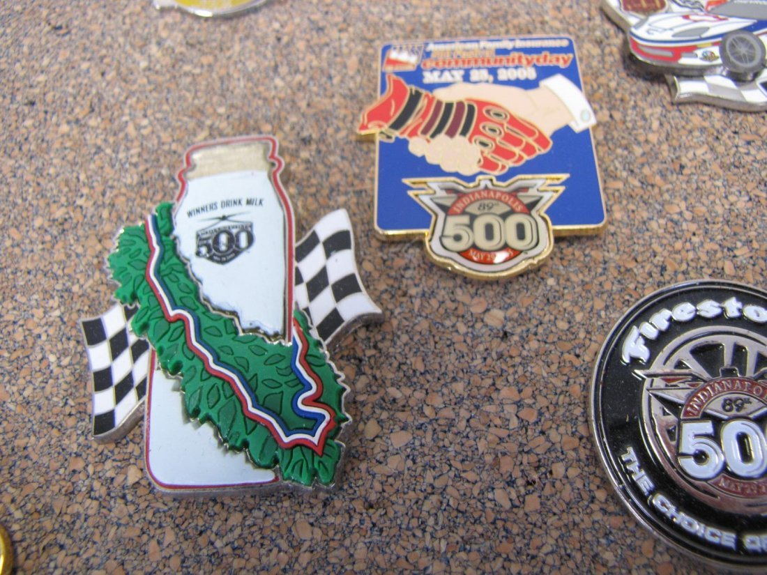 Collection of Racing Pins - 9