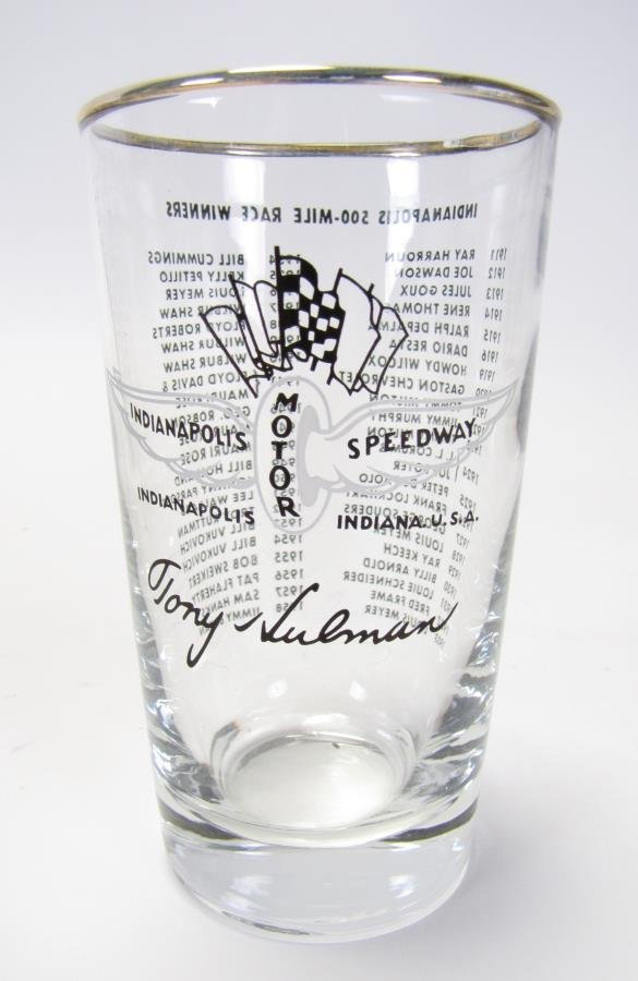 Set of Tony Hulman Indianapolis 500 Glasses - 3