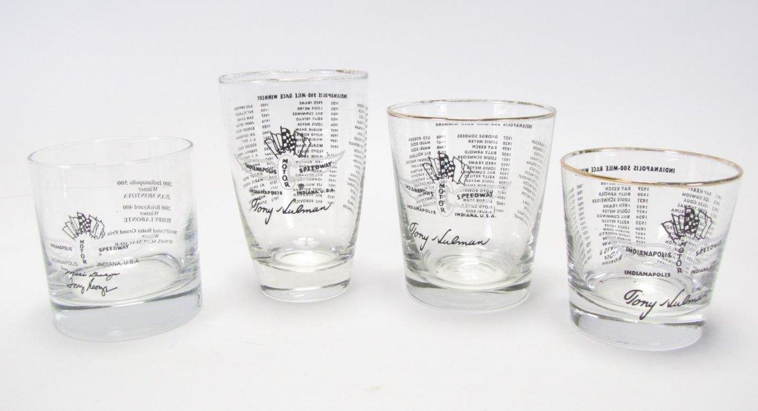 Group of Tony Hulman Indianapolis 500 Glasses - 3