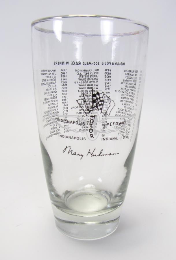 Group of Tony Hulman Indianapolis 500 Glasses - 9