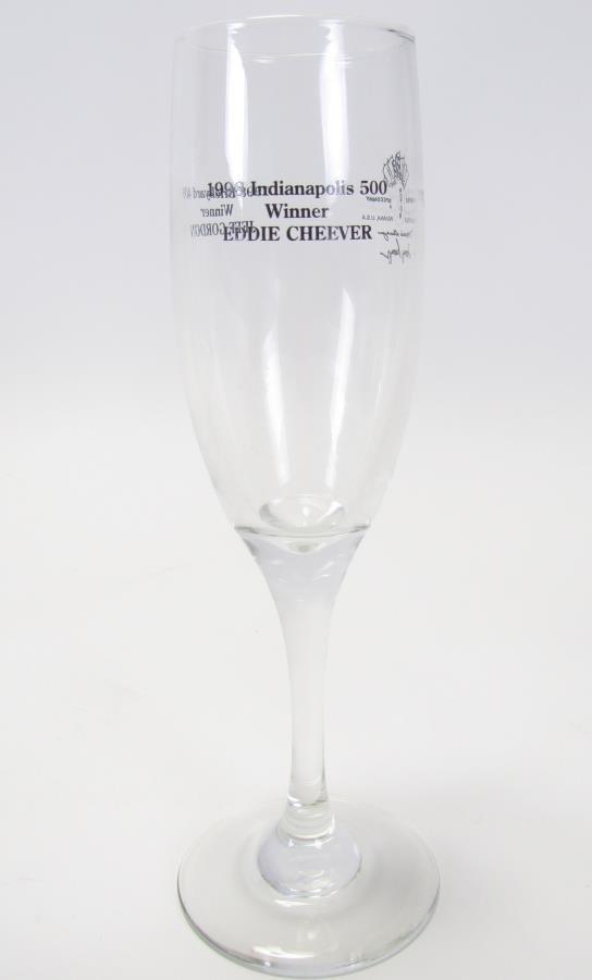 Tony Hulman Indianapolis 500 Wine Bucket & Glasses - 2