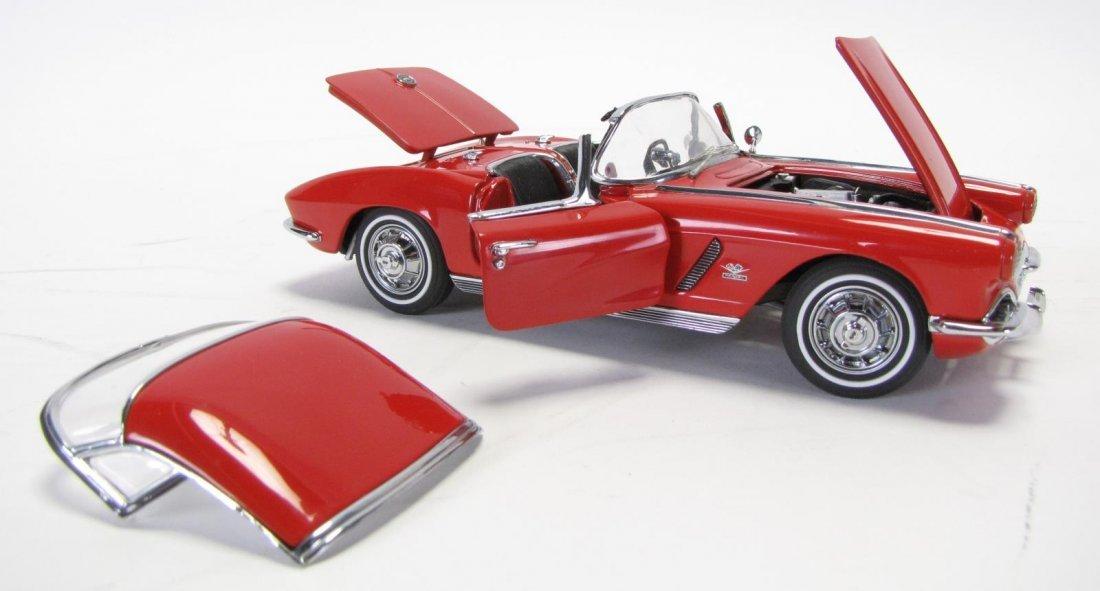 Three Danbury & Franklin Mint Die Cast Cars - 3