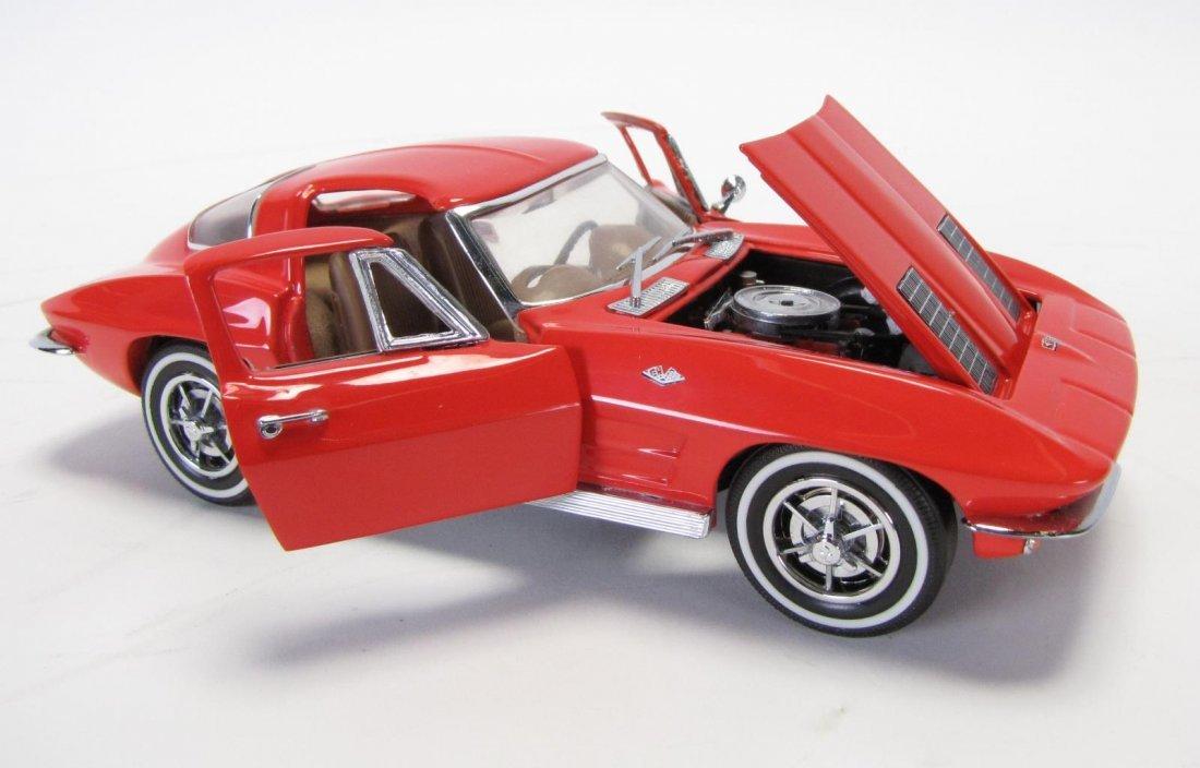 Three Danbury & Franklin Mint Die Cast Cars - 4