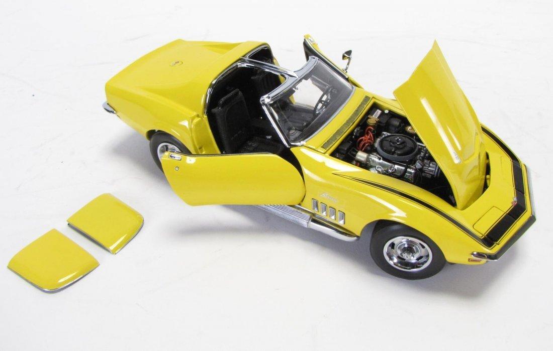 Three Danbury and Franklin Mint Die Cast Cars - 3