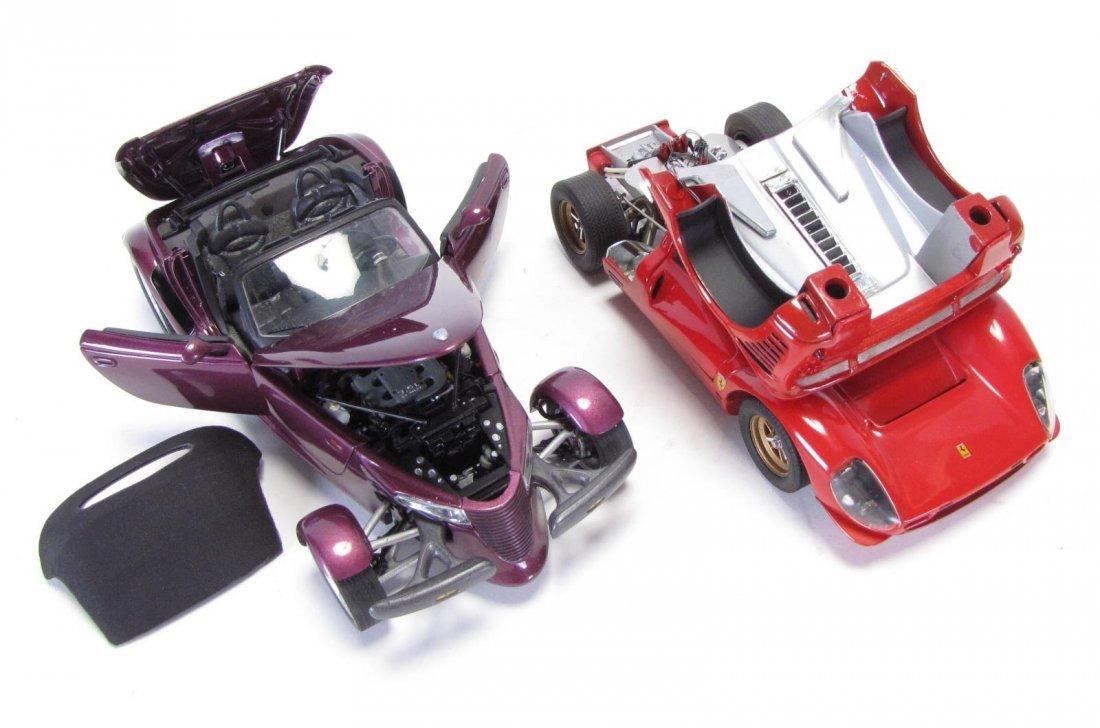 Five Die Cast Cars - 2