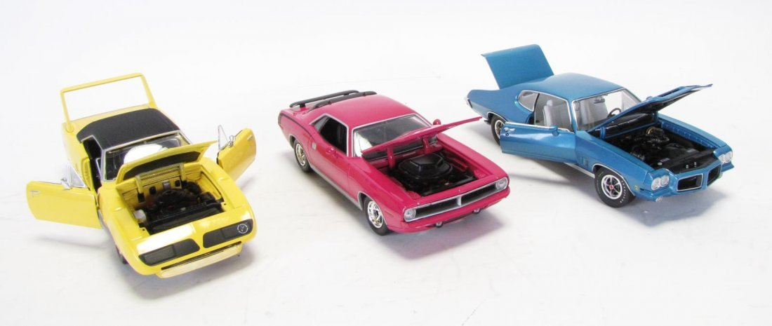 Five Die Cast Cars - 3