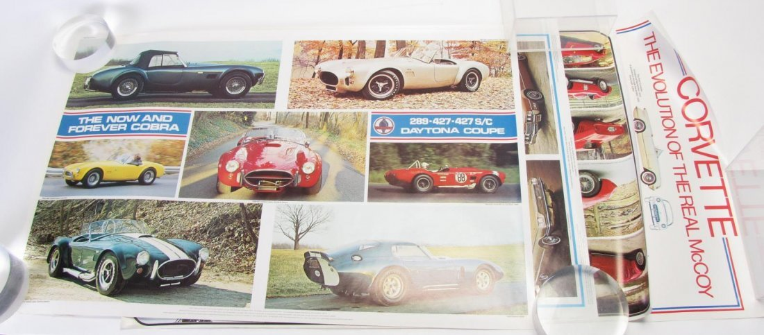 Group of Vintage Automobile Posters