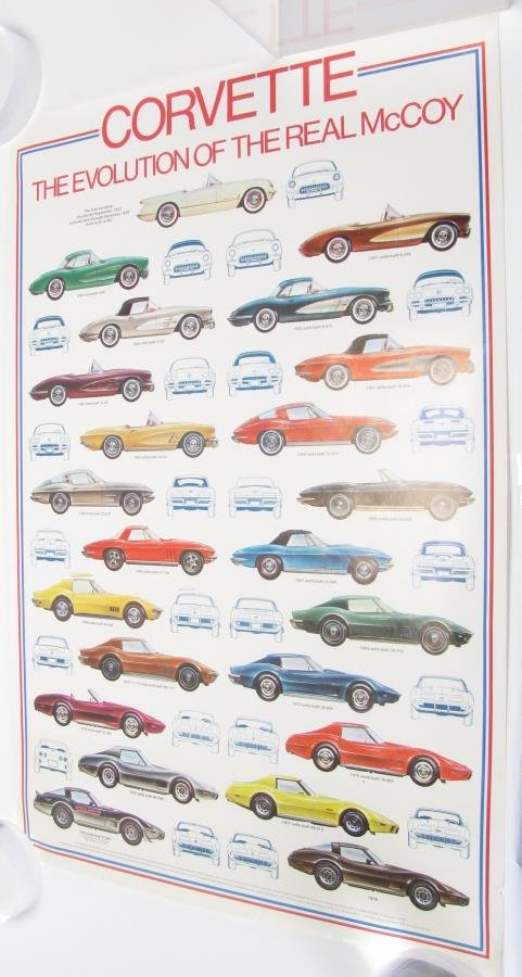 Group of Vintage Automobile Posters - 5