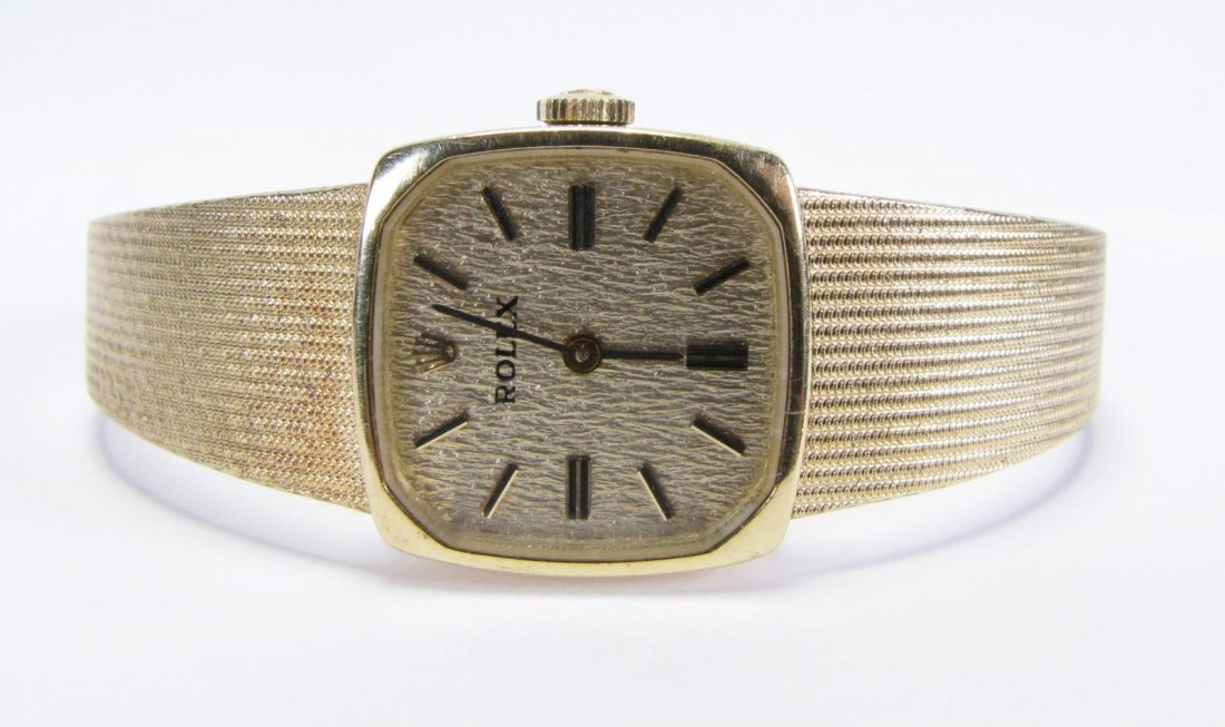 14K Yellow Gold Lady's Rolex Watch
