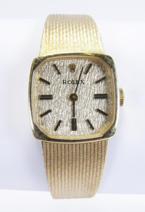 14K Yellow Gold Lady's Rolex Watch - 2