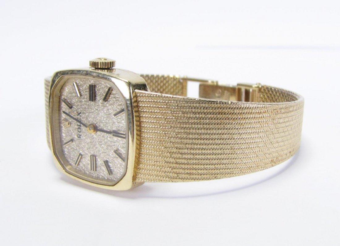 14K Yellow Gold Lady's Rolex Watch - 3