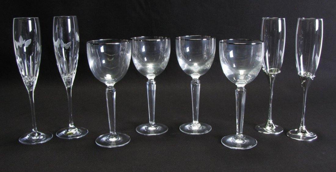 Group of Waterford Crystal Stemware