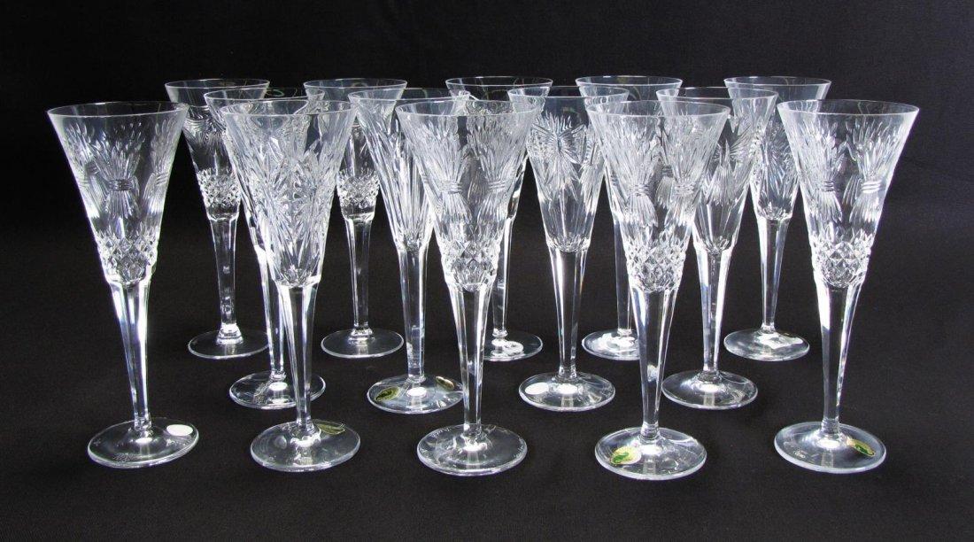 Waterford Crystal 'Millennium' Toasting Flutes