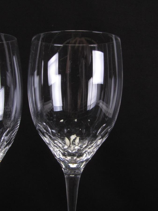 Set of 12 Orrefors 'Prelude' Claret Wine Glasses - 2