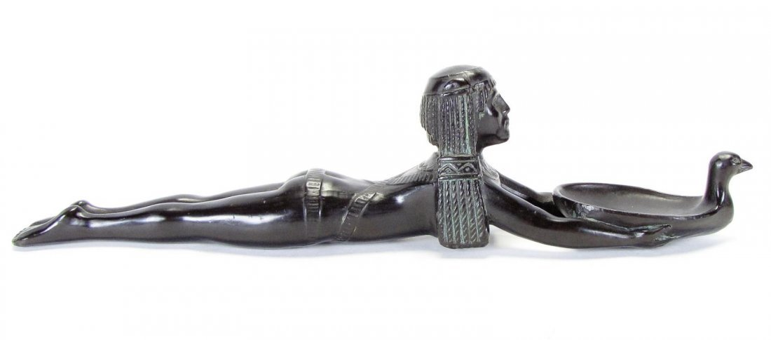 Bronze Sculpture of Egyptian Figure