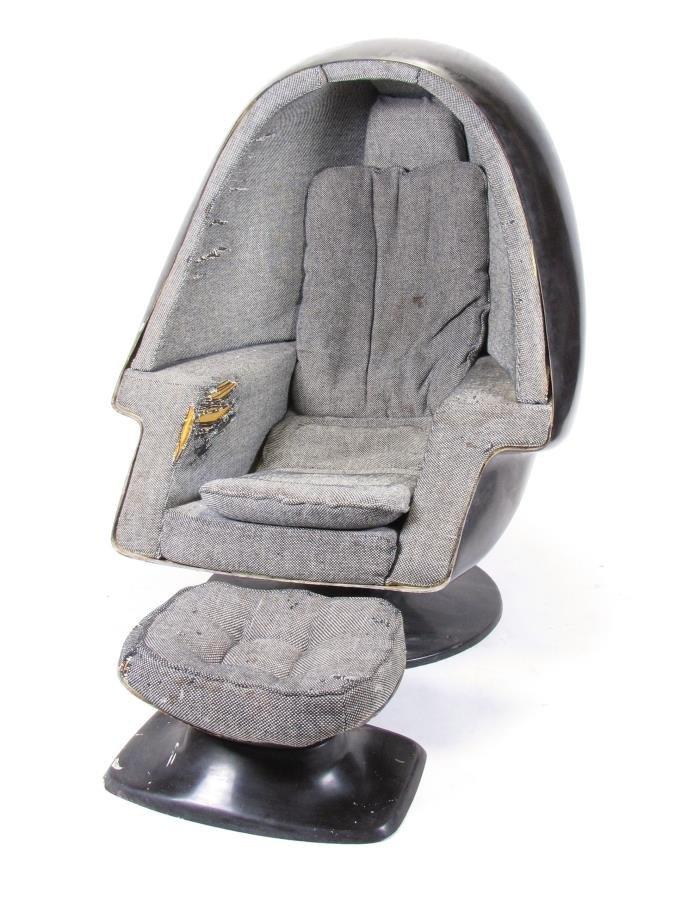 "Vintage 1970s Lee West ""Egg"" Chair"
