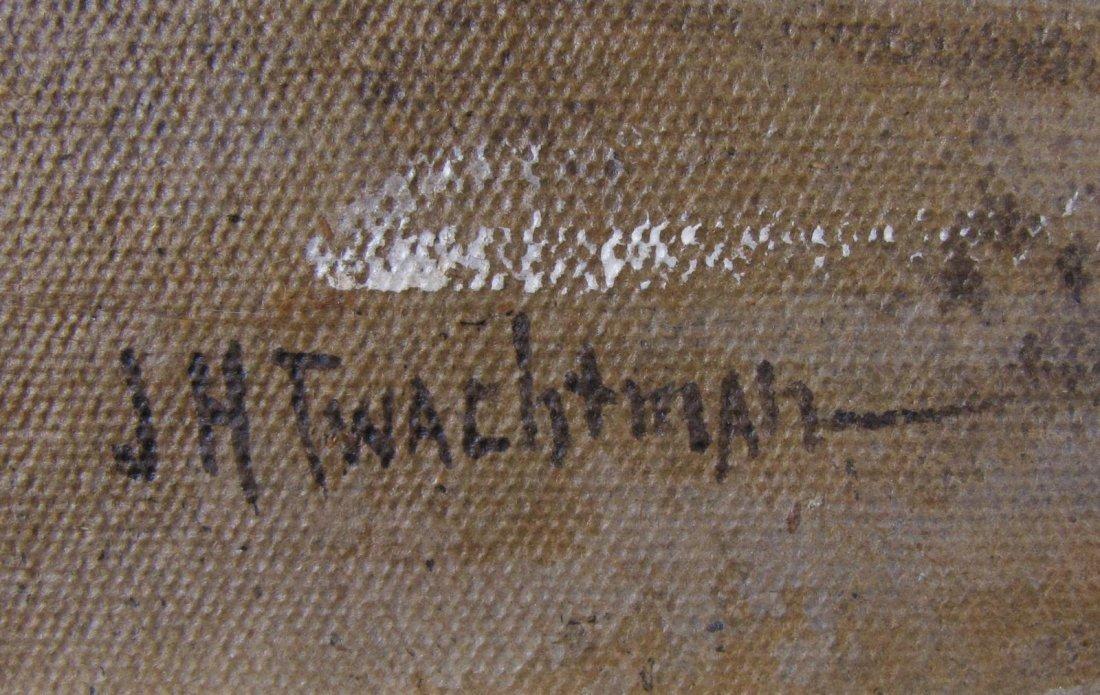 "John H Twachtman 16.5x18 O/B ""Horseneck Creek"" - 3"