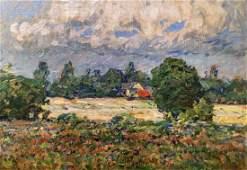 William J Forsyth 14x20 O/C Rural Homestead
