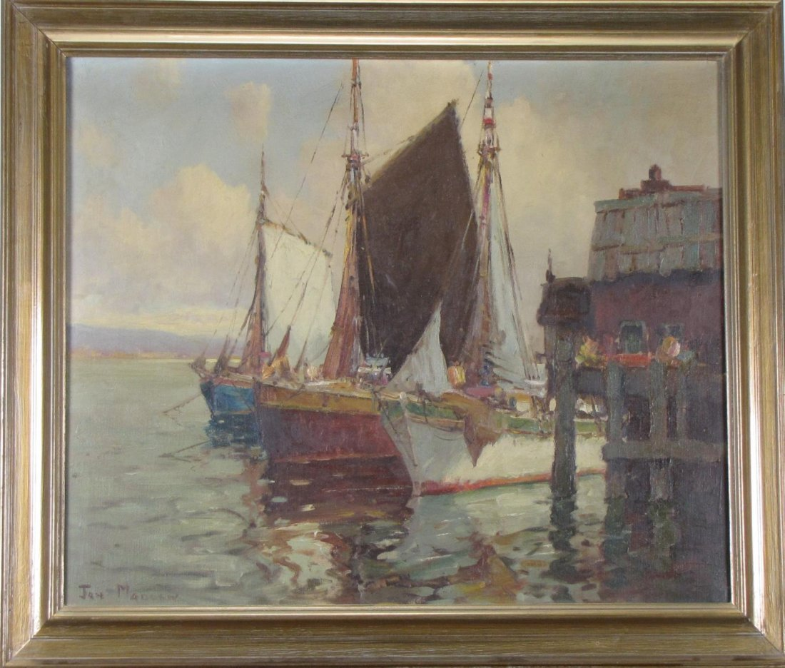 Jan Madden 25 x 30 O/C Fishing Schooners - 2