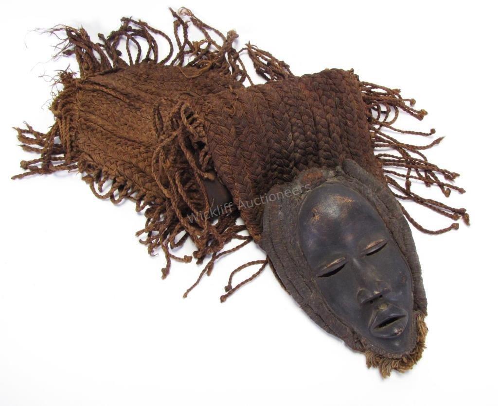 Bamileke Tribe Ceremonial Mask